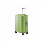 "Чемодан, NINETYGO Elbe Luggage 24"", 6941413270557, 65л, Поликарбонат Makrolon, Замком TSA, Зеленый"