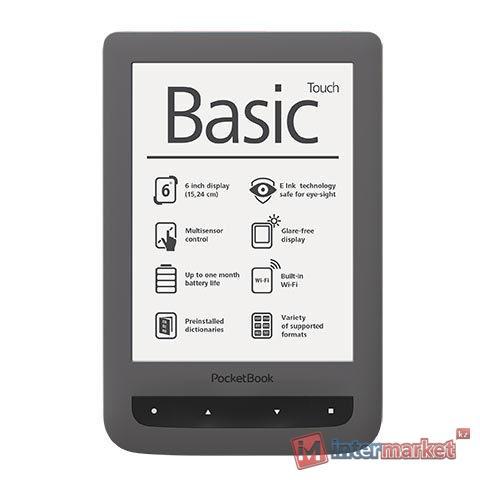 Электронная книга PocketBook PB624-Y-WW серый