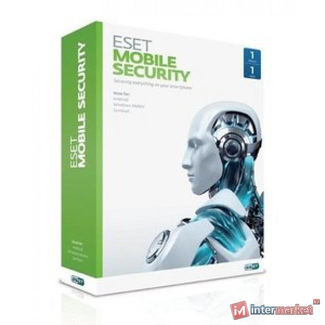 Антивирус ESET NOD32 Mobile Security – коробка на 3 устройства на 1 год