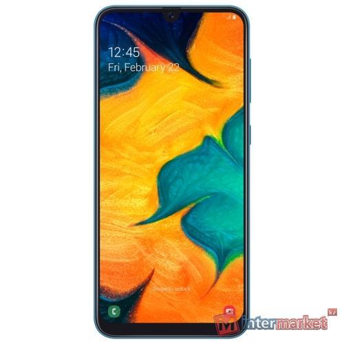 Смартфон Samsung Galaxy A30 SM-A305FZBUSKZ 32GB Blue