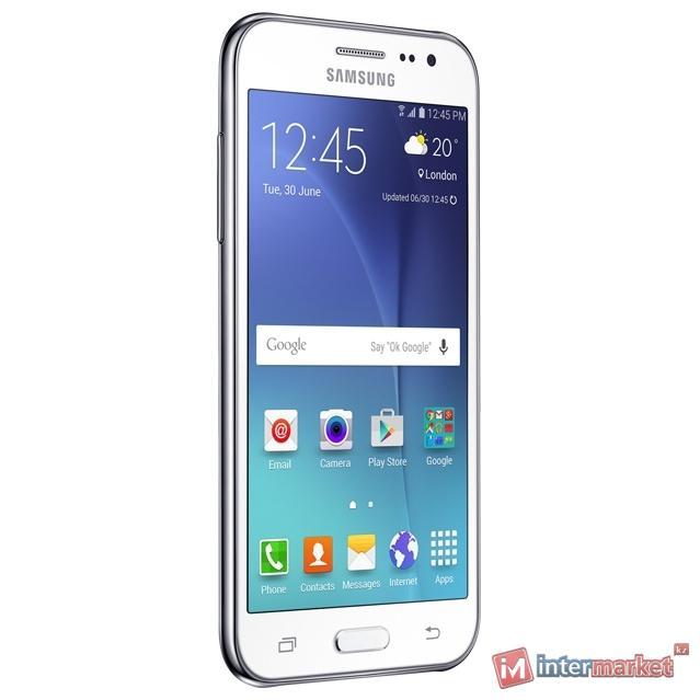 Смартфон Samsung Galaxy J2, White