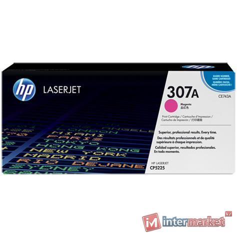 Картридж HP CE743A, Magenta