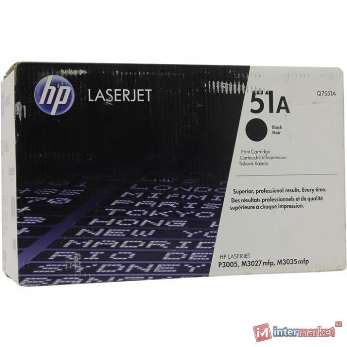 Оригинальный картридж HP Q7551A