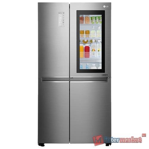 Холодильник LG GC-Q247CABV, Серебристый