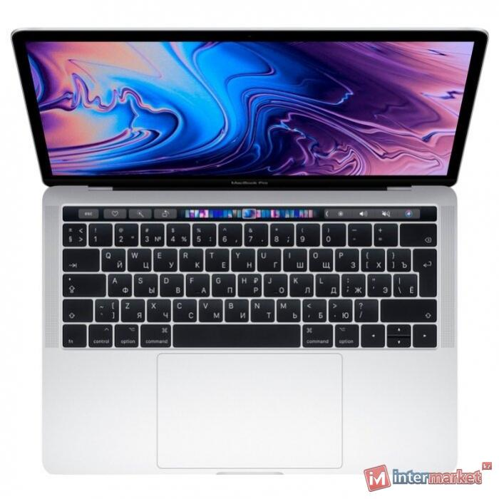 Ноутбук Apple MacBook Pro 13 with Retina,Touch Bar, Silver 2019 (Intel Core i5 2400 MHz/13.3