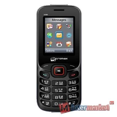 Мобильный телефон Micromax X088 Black red