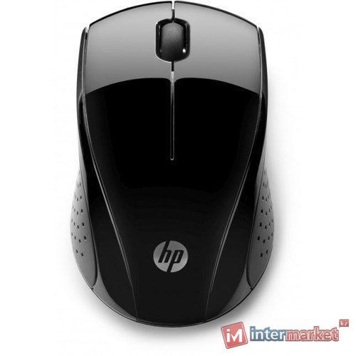 Мышь беспроводная HP 3FV66AA, 220 Black, 1000dpi
