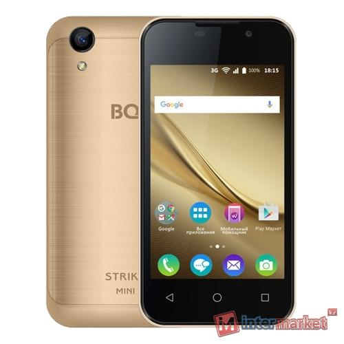 Смартфон BQ-4072 Strike Mini Gold 4