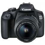 Цифровая зеркальная фотокамера Canon EOS 2000D EF-S 18-55 III Kit