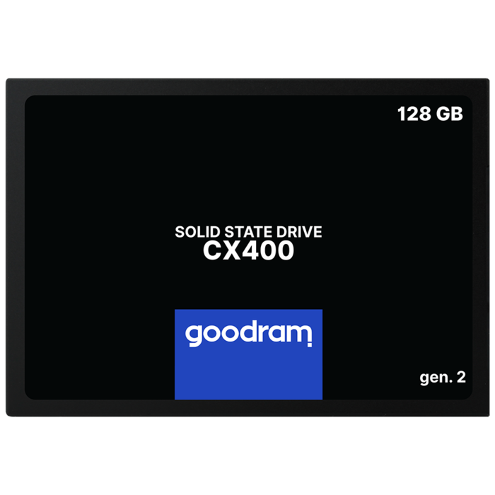 "Твердотельный накопитель 128GB SSD GOODRAM CX400 Gen,2 2,5"" SATA3 3D NAND R550Mb/s W460MB/s 7mm SSDPR-CX400-128-G2"